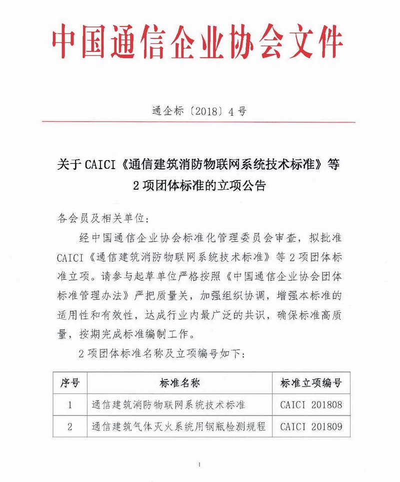 关于CAICI《通信建筑消防物联网系统技术标准》等2项团体标准的立项公告1-800.jpg